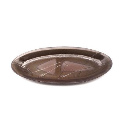 備前焼のカレー皿・楕円皿
