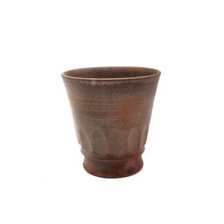 前焼のフリーカップ 作家は米田芳清